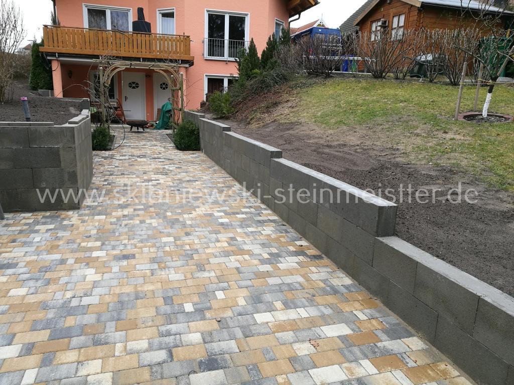 Garten Mauern & Garten Treppen